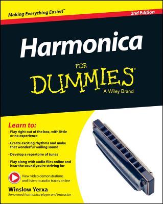 Harmonica for Dummies By Yerxa, Winslow
